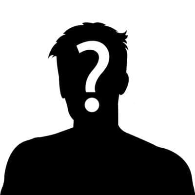 Man Outline with Question Mark