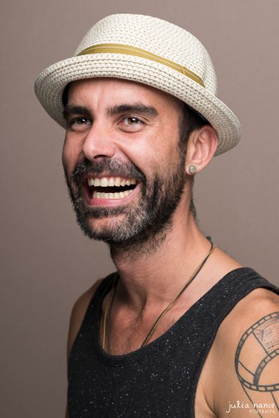 Man laughing in natural headshot - Headshot photography Melbourne