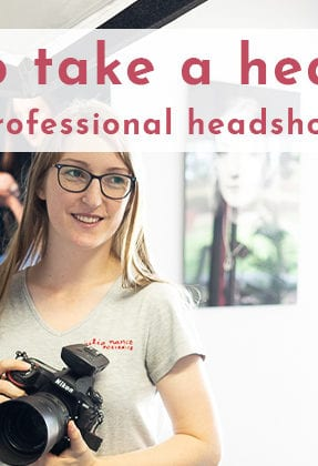 How to take a headshot - 15 tips from a professional headshot photographer